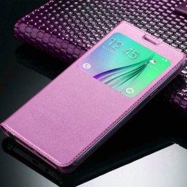 Funda Libro Ventana Huawei Mate 10 Lite Rosa