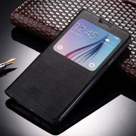 Funda Libro Ventana Huawei Mate 10 Lite Negra