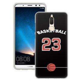 Funda Huawei Mate 10 Lite Gel Dibujo Baloncesto