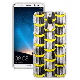 Funda Huawei Mate 10 Lite Gel Dibujo Banana