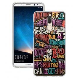 Funda Huawei Mate 10 Lite Gel Dibujo Graffiti