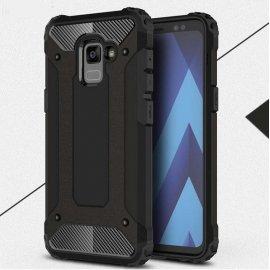 Funda Galaxy A8 2018 Shock Resistante Negra