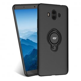 Funda Huawei Mate 10 Anillo Soporte Negra