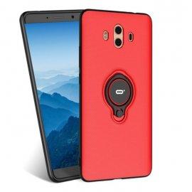 Funda Huawei Mate 10 Anillo Soporte Roja