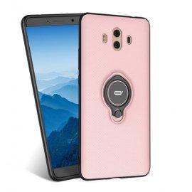 Funda Huawei Mate 10 Anillo Soporte Rosa