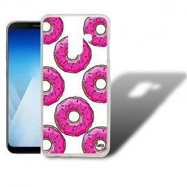 Funda Samsung Galaxy A5 2018 Gel Dibujo Donuts