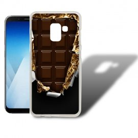 Funda Samsung Galaxy A5 2018 Gel Dibujo Chocolate