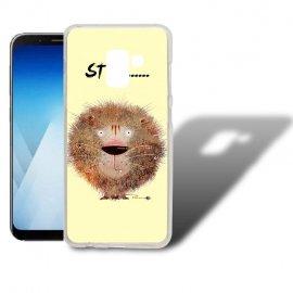 Funda Samsung Galaxy A5 2018 Gel Dibujo Leon