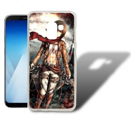 Funda Samsung Galaxy A5 2018 Gel Dibujo Personaje.