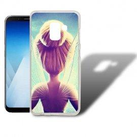 Funda Samsung Galaxy A5 2018 Gel Dibujo Ada