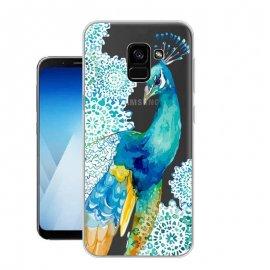 Funda Samsung Galaxy A8 2018 Gel Dibujo Paon