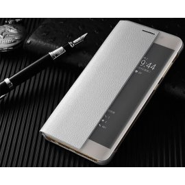 Funda Libro Smart View Huawei Mate 10 Pro Gris