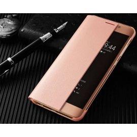 Funda Libro Smart View Huawei Mate 10 Rosa