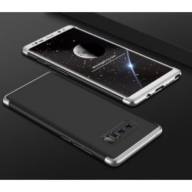 Funda 360 Samsung Galaxy Note 8 Negra y Gris