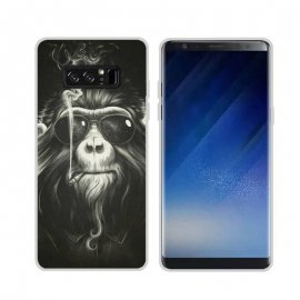 Funda Samsung Galaxy Note 8 Gel Dibujo Mono