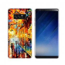 Funda Samsung Galaxy Note 8 Gel Dibujo Pintura