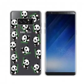 Funda Samsung Galaxy Note 8 Gel Dibujo Panda