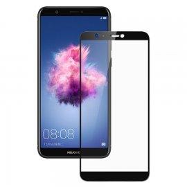 Protector Pantalla Cristal Templado Premium Huawei P Smart Negro