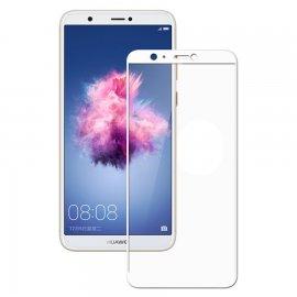 Protector Pantalla Cristal Templado Premium Huawei P Smart Blanco