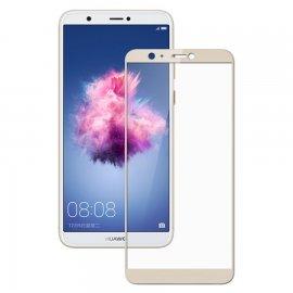 Protector Pantalla Cristal Templado Premium Huawei P Smart Dorado