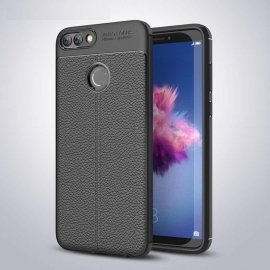 Funda Huawei P Smart Tpu Cuero 3D Negra