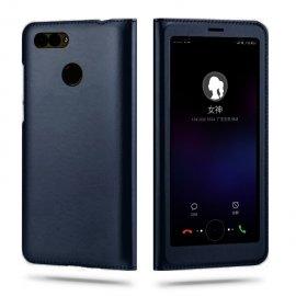 Funda Libro Huawei P Smart con Tapa y Soporte Full Negra