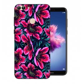 Funda Huawei P Smart Gel Dibujo Flores