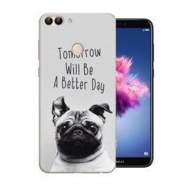 Funda Huawei P Smart Gel Dibujo Perro