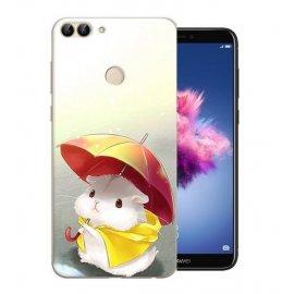 Funda Huawei P Smart Gel Dibujo Ratoncito