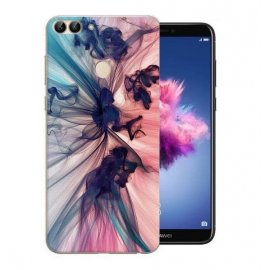 Funda Huawei P Smart Gel Dibujo Humos