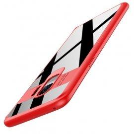 Funda Flexible Samsung Galaxy S9 Gel Dual Kawax Roja