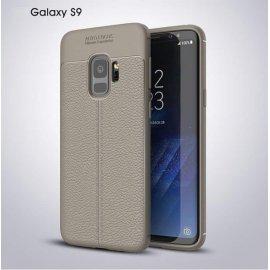 Funda Samsung Galaxy S9 Gel Cuero 3D Gris