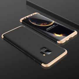 Funda 360 Samsung Galaxy S9 Negra y Oro