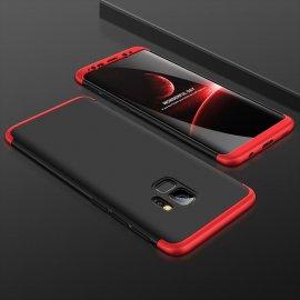 Funda 360 Samsung Galaxy S9 Negra y Roja