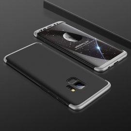 Funda 360 Samsung Galaxy S9 Negra y Gris