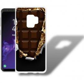 Funda Samsung Galaxy S9 Gel Dibujo Chocolate