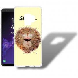 Funda Samsung Galaxy S9 Gel Dibujo Leon