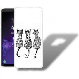 Funda Samsung Galaxy S9 Gel Dibujo Gatos