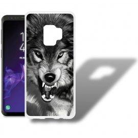 Funda Samsung Galaxy S9 Gel Dibujo Lobo