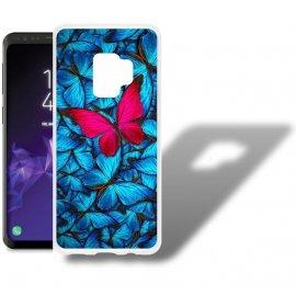 Funda Samsung Galaxy S9 Gel Dibujo Mariposa
