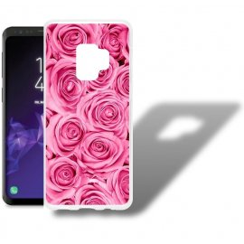 Funda Samsung Galaxy S9 Gel Dibujo Rosas