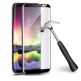 Protector Pantalla Cristal Templado Premium Samsung Galaxy S9 Plus Negro