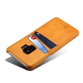 Carcasa Samsung Galaxy S9 Cuero Marron