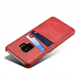 Carcasa Samsung Galaxy S9 Cuero Rojo