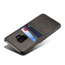 Carcasa Samsung Galaxy S9 Cuero Negra