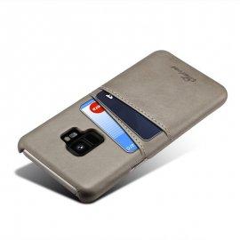 Carcasa Samsung Galaxy S9 Cuero Gris