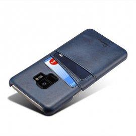 Carcasa Samsung Galaxy S9 Cuero Azul
