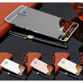 Bumper Huawei Mate 9 Aluminio Dual Plata