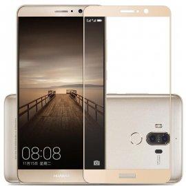 Protector Pantalla Cristal Templado Premium Huawei Mate 9 Dorado