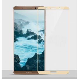 Protector Pantalla Cristal Templado Premium Huawei Mate 10 Dorado